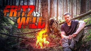 SURVIVAL: FRITZ vs WILD - 48 Stunden Survival Challenge - Episode 3   Fritz Meinecke