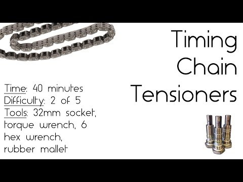 Porsche IMS Fix 9: How to install the Timing Chain Tensioners and check the Timing