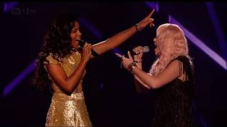 Kelly and Amelia Lily perform their duet - The X Factor 2011 Live Final (Full Version)