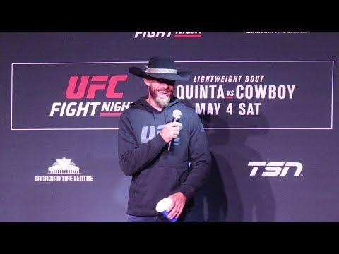 UFC Ottawa: Donald 'Cowboy' Cerrone Pre-Fight Q&A