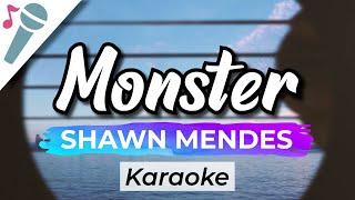 Download Shawn Mendes, Justin Bieber - Monster - Karaoke Instrumental (Acoustic)