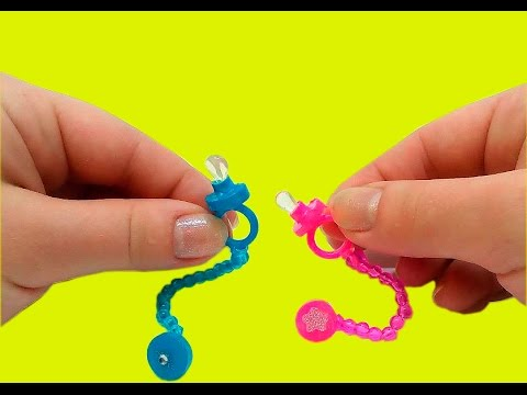 Miniature DIY baby pacifier for dolls - Baby Accessories