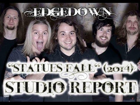 "EDGEDOWN Studio Report/Album Teaser (""Statues Fall"" 2012/2013)"