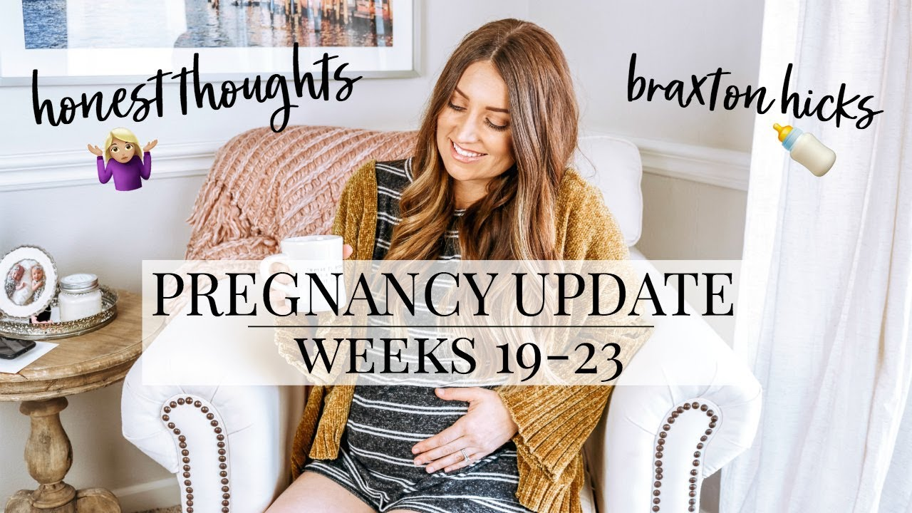 PREGNANCY UPDATE: WEEKS 19-23 // HONEST THOUGHTS THIS TIME AROUND | Kendra Atkins