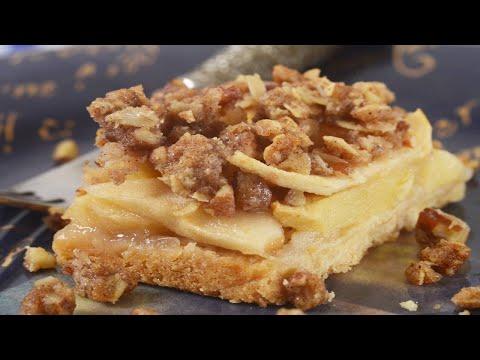 Apple Crisp Bars Recipe Demonstration – Joyofbaking.com