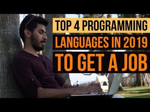 Top 4 Programming Languages to Learn in 2019 to Get a Job Without a College Degree