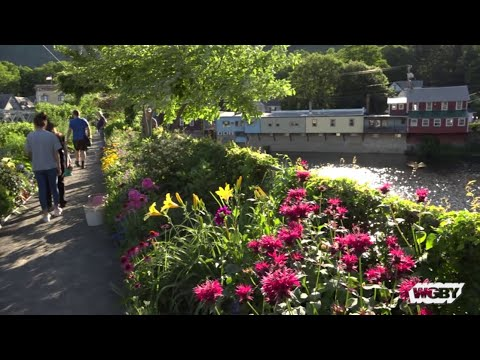 Bridge of Flowers in Shelburne Falls | Connecting Point | Sept. 10, 2018