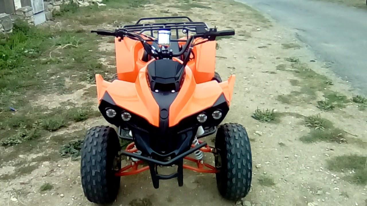 41e1025c926 Quad warrior 125cc - YouTube