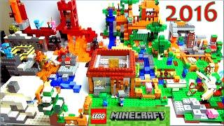 LEGO Minecraft 2016 все наборы Обзор на русском языке по игре Майнкрафт(Lego Minecraft 2016 Обзор на русском языке и минифигурки Лего игры Майнкрафт. Это не мультики про Лего Майнкрафт,..., 2016-03-05T14:57:01.000Z)