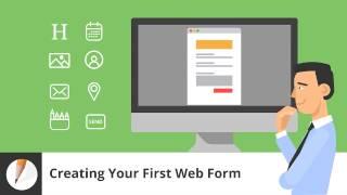 كيفية إنشاء أول نموذج ويب
