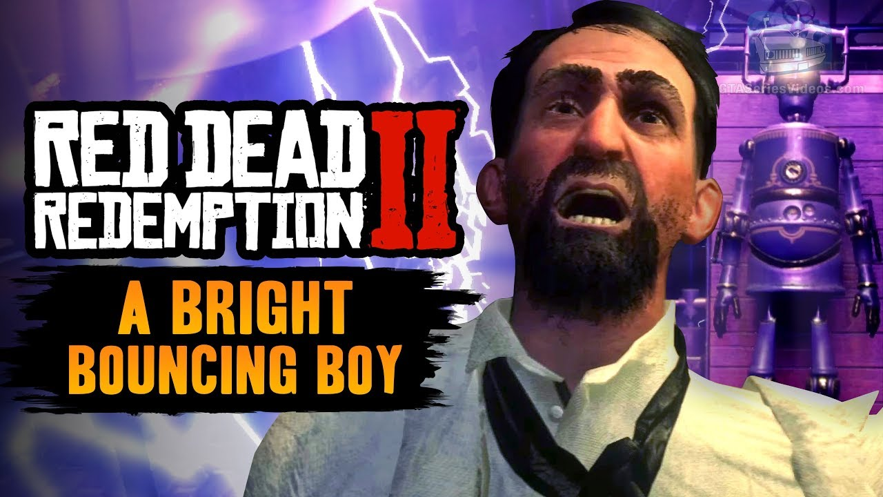 Red Dead Redemption 2 Stranger Mission - A Bright Bouncing Boy [Artificial Intelligence Trophy]