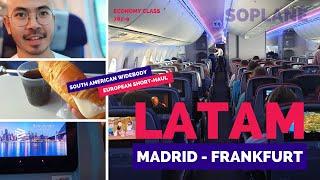 LATAM Economy Class Review - Madrid to Frankfurt 787-9 (2019)
