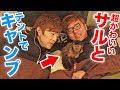 北海道で動物たちとキャンプ!テントでおサルさんと寝てみたw【ヒカキン&セイキン】