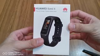 HUAWEI BAND 4 Unboxing dan Review Singkat