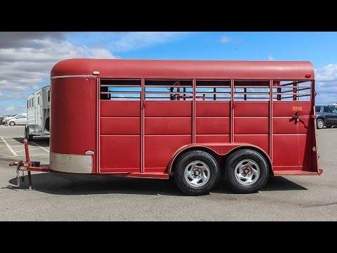 2007 CALICO STOCK TRAILER - Transwest Truck Trailer RV (Stock #: 5U170328)