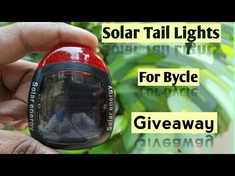 Bycle Solar Tail Light || All Gadgets Deep Review