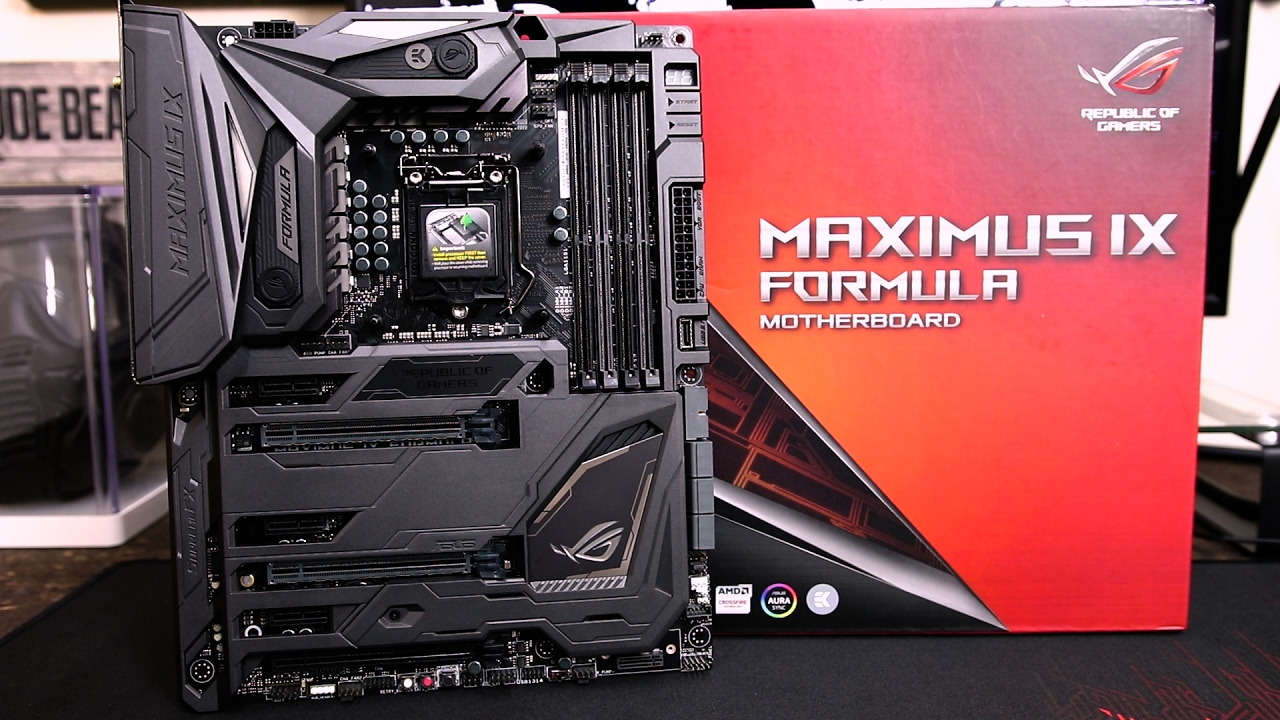 asus maximus ix formula z270 review youtube. Black Bedroom Furniture Sets. Home Design Ideas