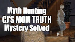 JOHNSON'S HOUSE SECRETS AND CJ'S MOM - GTA San Andreas MYTH HUNTING