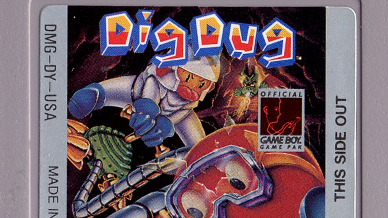 Classic Game Room Dig Dug