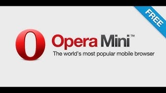 How To Download Opera Mini From Mobile !!  ओपेरा मिनी कैसे डाउनलोड करें मोबाइल से 2019 in Hindi !!