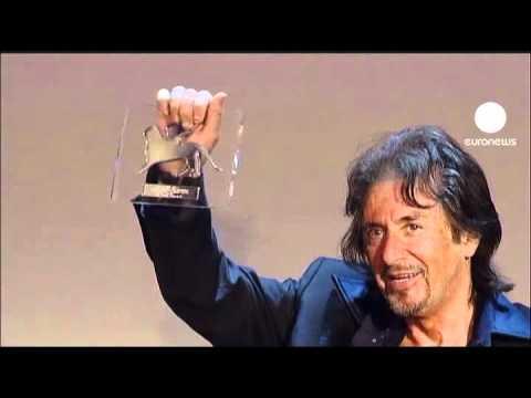euronews cinema - Al Pacino honoré à la Mostra de Venise
