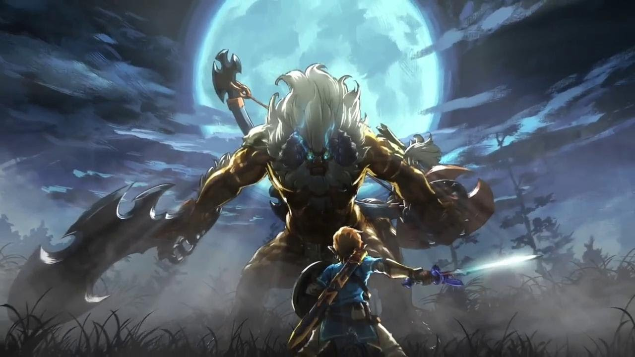 Zelda Breath Of The Wild The Master Trials Dlc Amiibo Trailer
