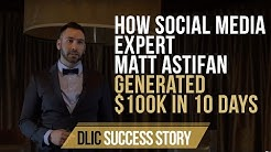 How Social Media Expert Matt Astifan Generated $100K in 10 Days - Vancouver's #1 Mastermind Group