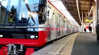 [新車ちゃん2号機]名鉄3313F(試運転) K----レ本宿駅発車
