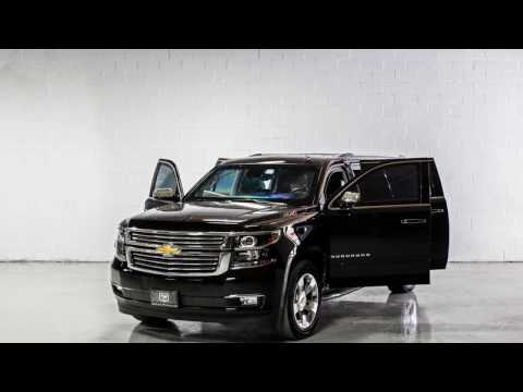 INKAS® Armored Chevrolet Suburban Black