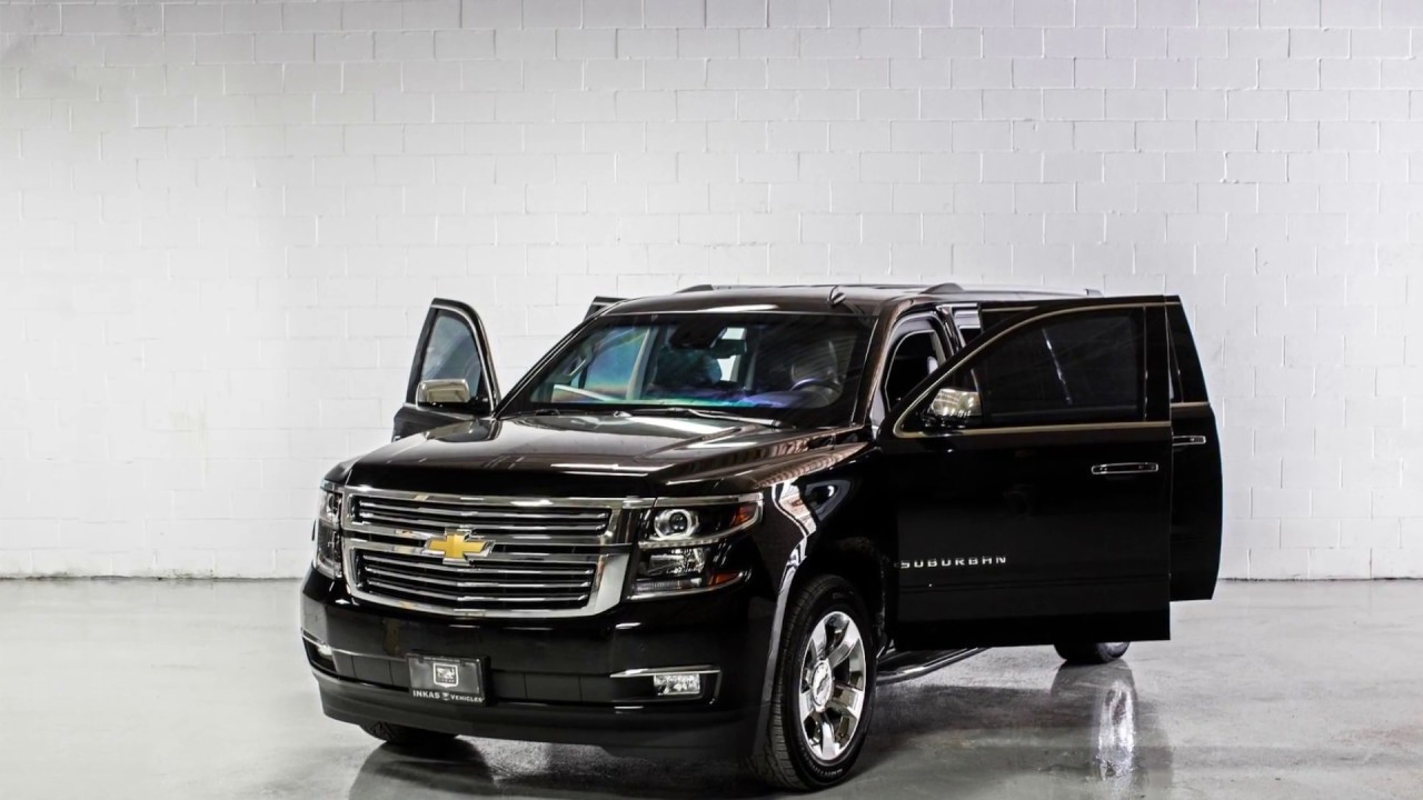 INKAS® Armored Chevrolet Suburban Black - YouTube