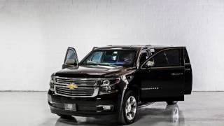INKAS Armored Chevrolet Suburban Black