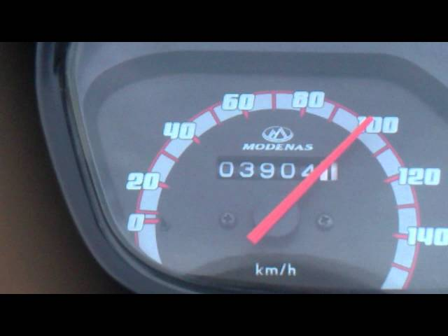 top speed modenas MR1 standard
