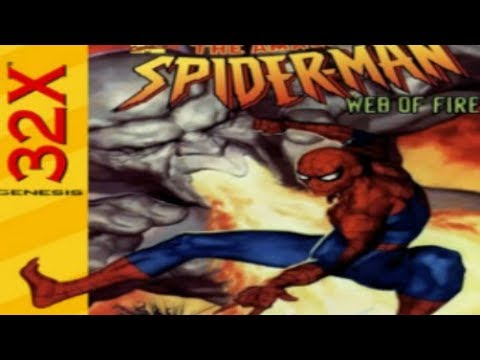 Amazing spiderman,the web of fire(SEGA 32X AÑO 1996)(PARA PC)