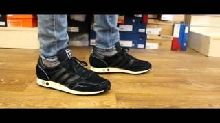 popular Dormitorio tirar a la basura  Review | Adidas LA Trainer OG (Black\White, S79944) - YouTube