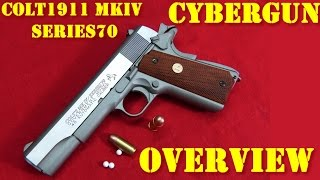 Airsoft - Cybergun/KWC - Colt 1911 MkIV '70 Series [ENG subs]