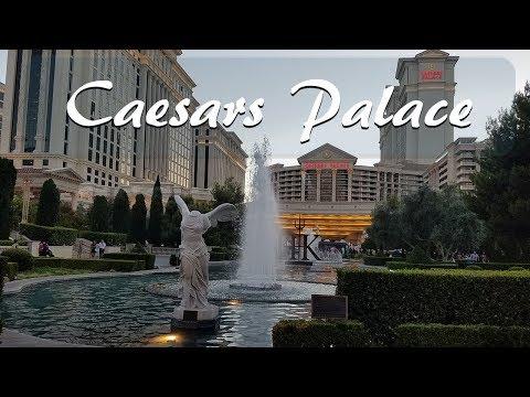 Walking through Caesars Palace Hotel..2017