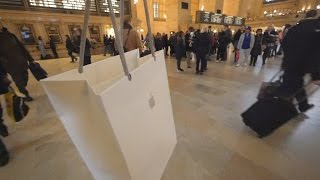 Got an iPhone in Apple Store at Grand Central Terminal, NYC