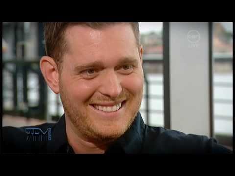 Michael Buble Interview On The 7pm Project - 11 Feb 2011 - Crazy Love Australian Tour