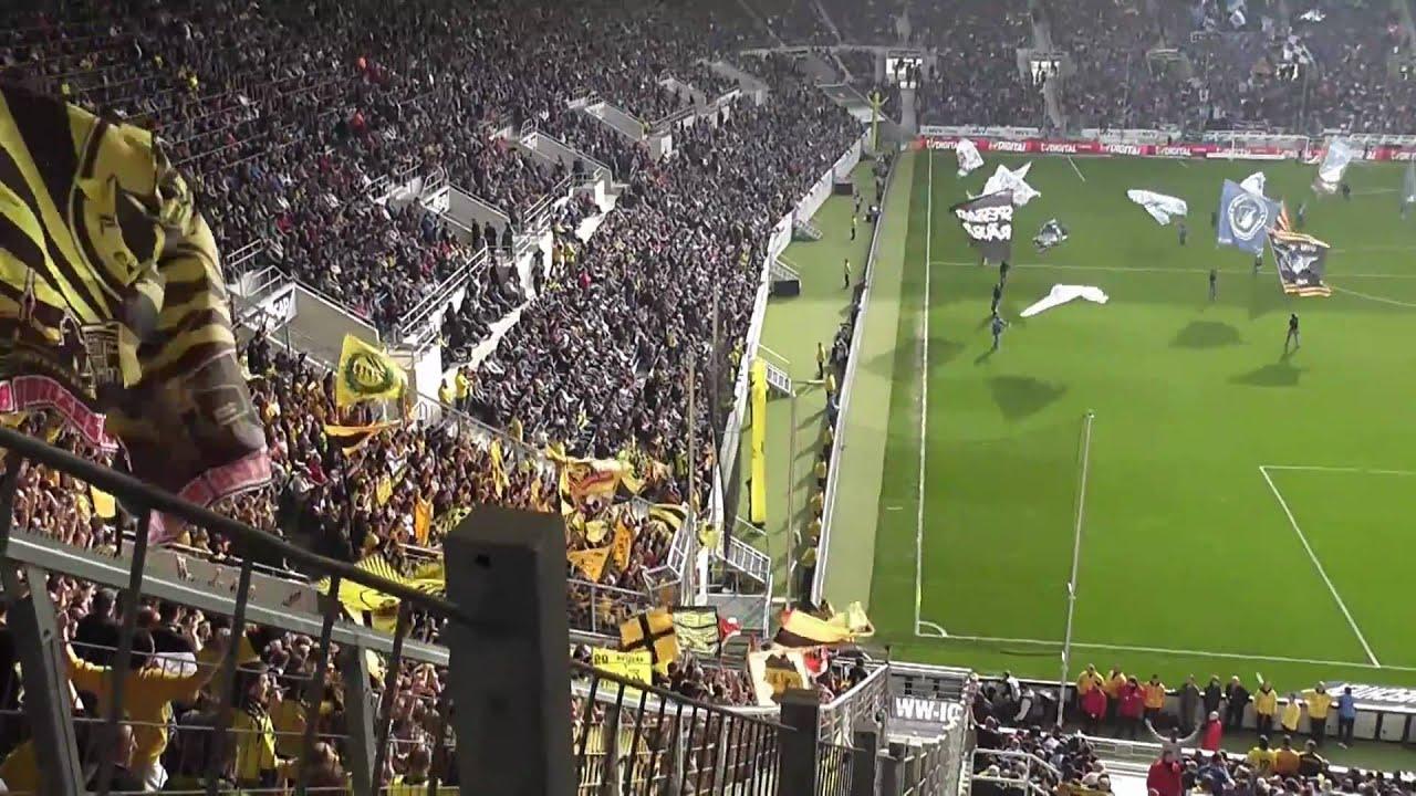 Zusammenfassung der Stimmung TSG Hoffenheim - Borussia Dortmund BVB vom 12.3.2011 in FULL HD