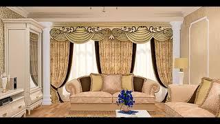 Шторы в зале и гостиной. Фото идеи для красивого оформления комнаты.