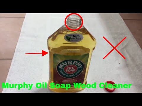 ✅  How To Use Murphy Oil Soap Wood Cleaner Review