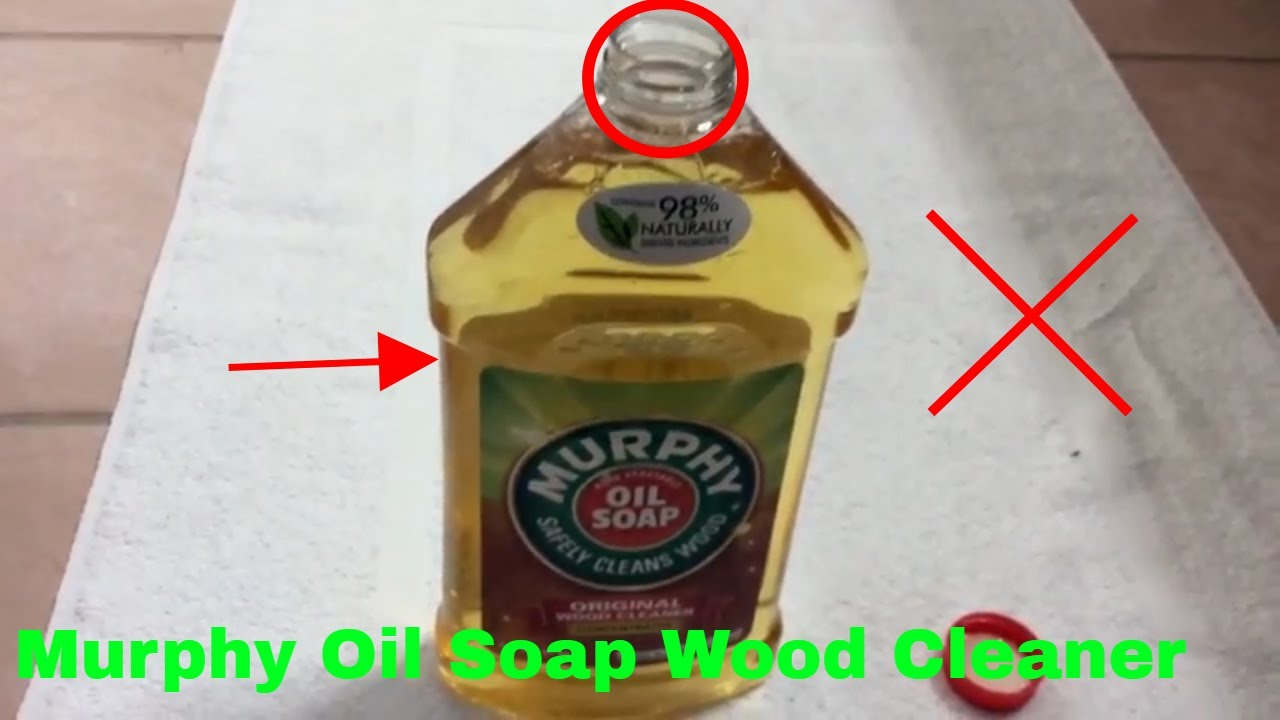 How To Use Murphy Oil Soap Wood Cleaner Review Youtube