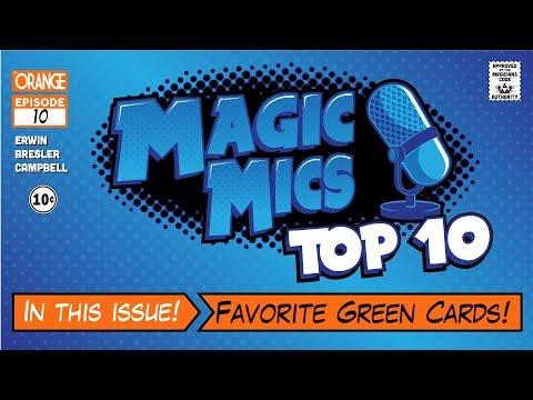 TOP TEN - Favorite Green Cards!