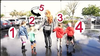 SHOPPING WITH 5 KIDS!!
