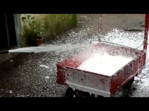 How to use Foam Type Fire Extinguisher.....