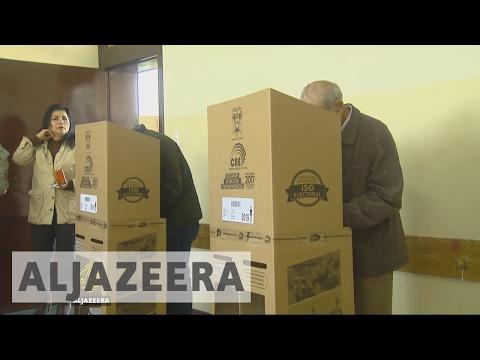 Ecuador presidential election heads for runoff