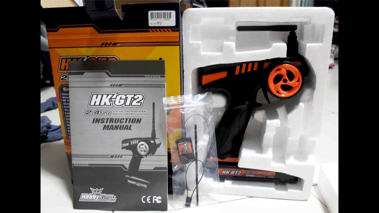 Flysky Hobbyking Gt 2 24 Ghz Remote Control Unboxing And First Rc Fs Gt3b 24ghz Look
