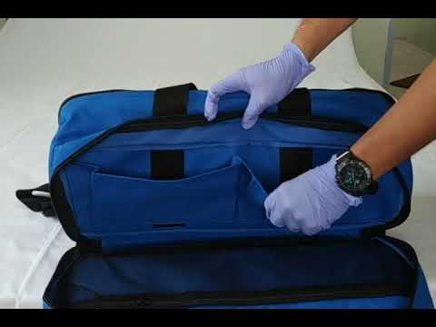 Blue Oxygen Duffel Bag
