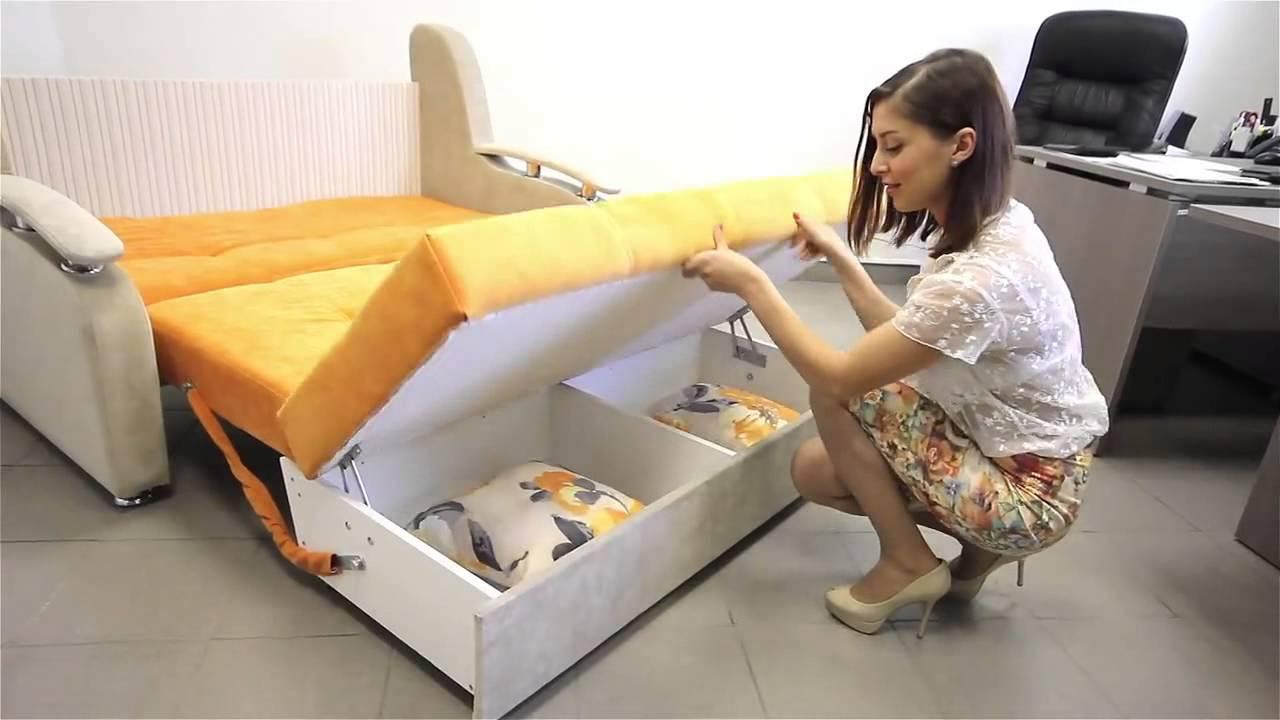 Купить. Компактный диван превращается в полутораспальную кровать. Купить. Классический выкатной диван-кровать с габаритами спального места.
