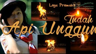Lagu Pramuka Indah Api Merah - Api Unggun